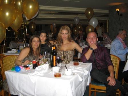 Cena de Nochevieja 2010