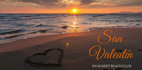 San Valentin en Sunset Beach Club Benalmadena
