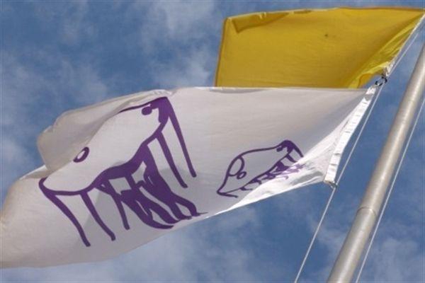 Bandera aviso medusas