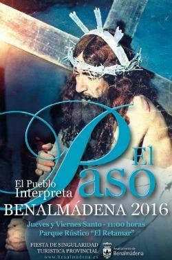 Cartel El Paso de Benalmadena 2016