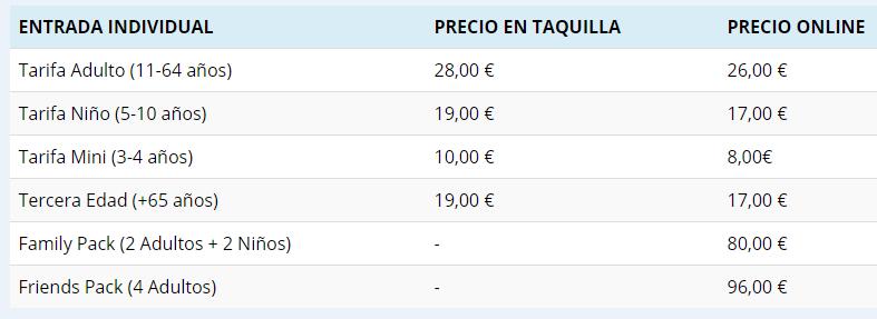 Aqualand Torremolinos Horarios y precios