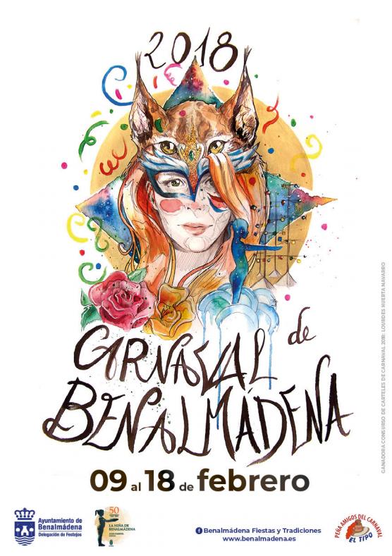 Cartel Carnaval de Málaga