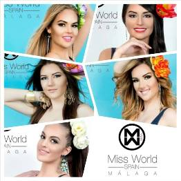 Miss World Spain Malaga 2014