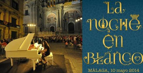La Noche en Blanco Malaga 2014
