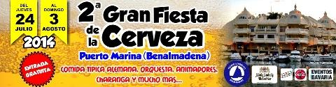 2ª Fiesta de la Cerveza en Puerto Marina Benalmadena