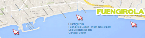 Costa Water Park Mapa Fuengirola