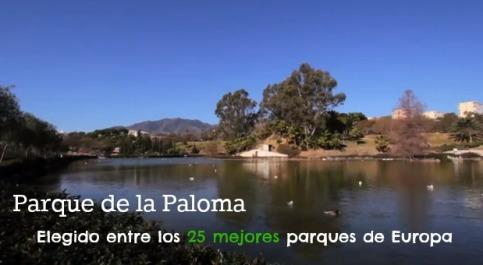 Parque de la Paloma entre los Mejores 25 parques de Europa
