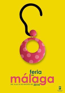 Cartel feria de Malaga 2014