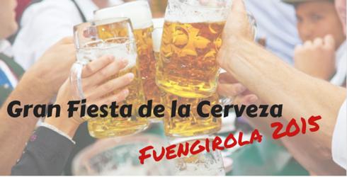 Gran Fiesta de la Cerveza 2015 en Fuengirola