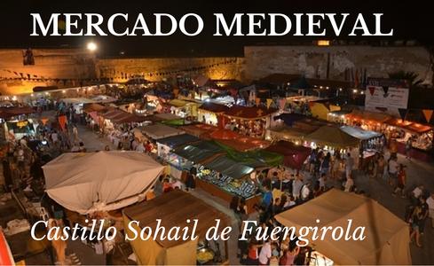 Mercado Medieval en Castillo Sohail de Fuengirola