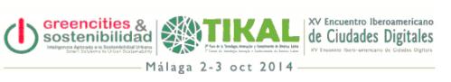 Logo Greencities & Sostenibilidad Malaga 2014