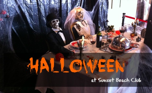 Halloween en Sunset Beach Club