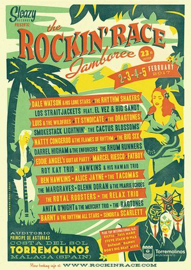 Rockin Race Jamboree 2017 Poster