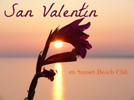 San Valentin 2015 en Sunset Beach Club