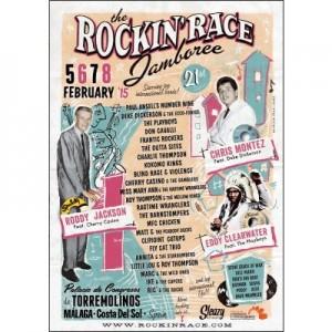 Poster Rockin Race Jamboree Torremolinos 2015
