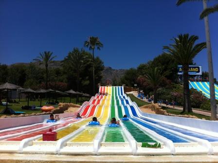 Parque acuático Aqualand en Torremolinos