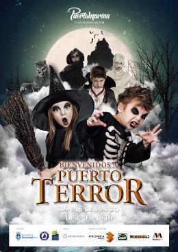 """""""Puerto Terror"""" en Puerto Marina, Benalmádena"""