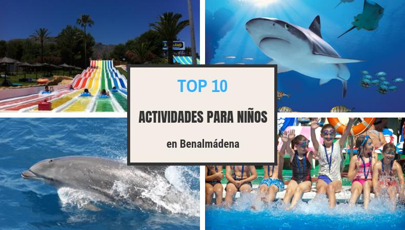 Top 10 actividades para niños en Benalmadena