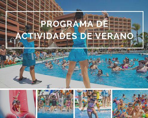 Actividades verano 2016 en Sunset Beach Club