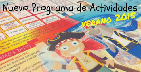 Nuevo programa de actividades en Sunset Beach Club Verano 2015