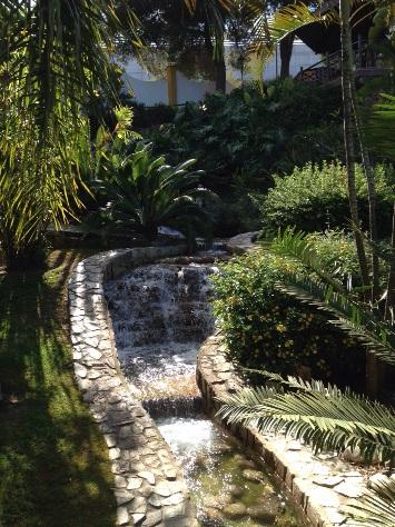 Riachuelo en Jardín Botánico Molino de Inca