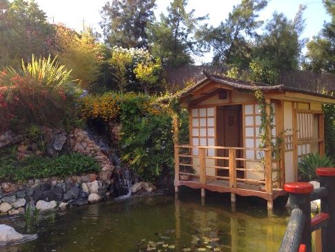 Jardín Japonés en Molino de Inca Jardín Botánico  en Torremolinos