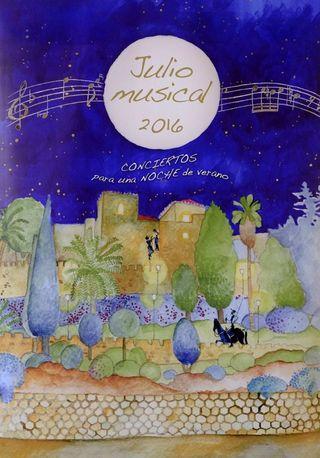 Julio musical en las noches de Málaga