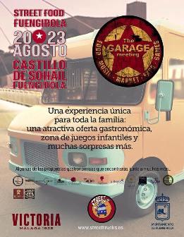El Castillo Sohail de Fuengirola acoge el I Festival gastronómico itinerante de foodtruck de Andalucía