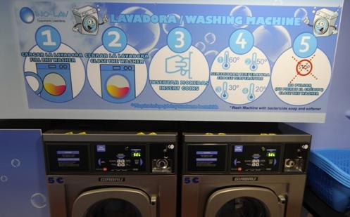 Lavadoras auto servicio