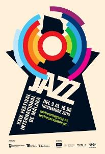 Cartel Festival de Jazz de Málaga