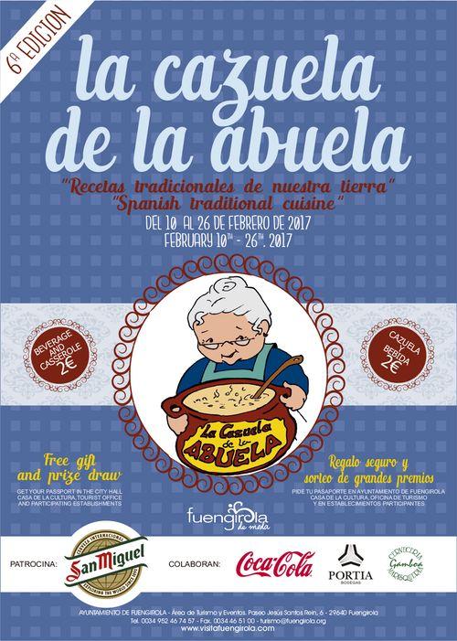 Cartel Cazuela de la Abuela en Fuengirola