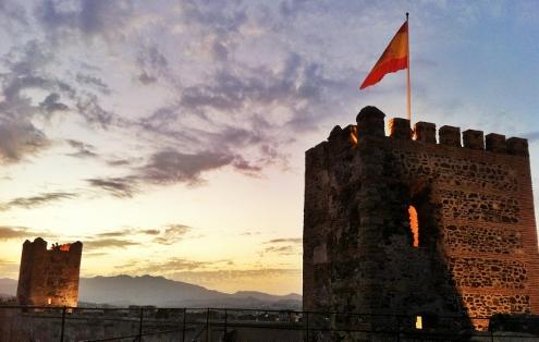 Las torres del Castillo Sohail