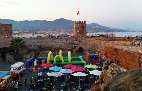 Foto de un evento en el Castillo Sohail en Fuengirola