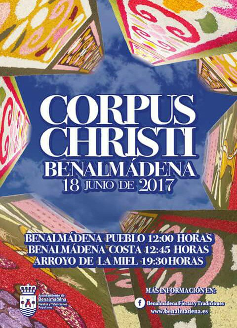 Corpus Christi en Benalmádena