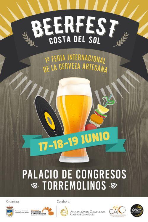 Cartel del Beerfest Torremolinos