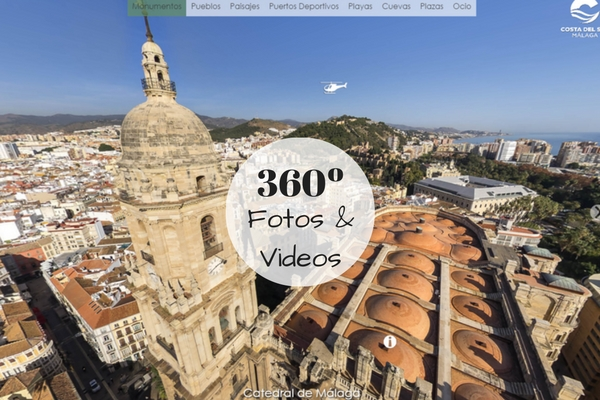 fotos y videos 360º de la Costa del Sol