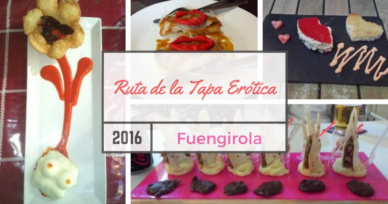Ruta de la Tapa Erótica 2016 en Fuengirola
