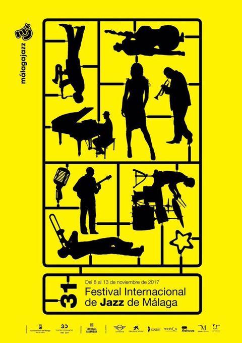 Cartel del Festival Internacional de Jazz de Málaga 2017