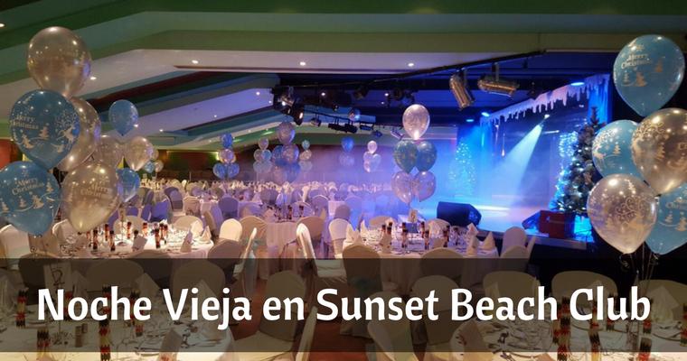 Noche Vieja en Sunset Beach Club