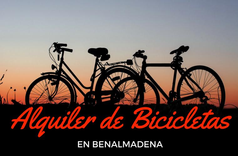 alquiler de bicicletas en Benalmádena
