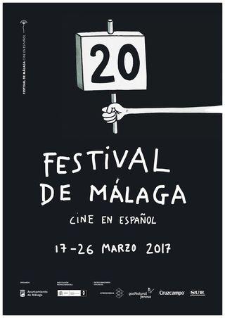 Cartel Festival de Cine de Málaga 2017