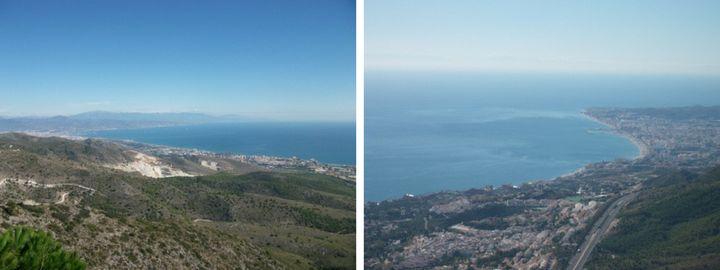 vistas desde Monte Calamorro