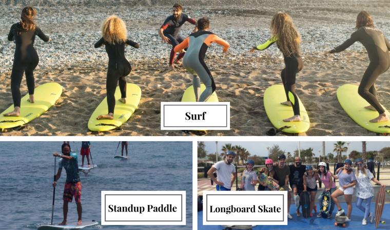 Escuela de surf en Benalmadena - La Mar de Bien