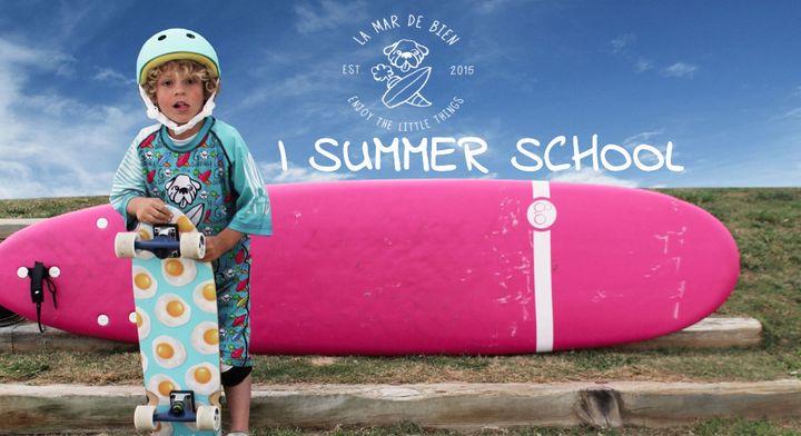 Escuela de surf de verano en Benalmadena