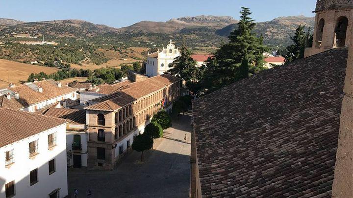 Vistas desde la Iglesia Santa Maria