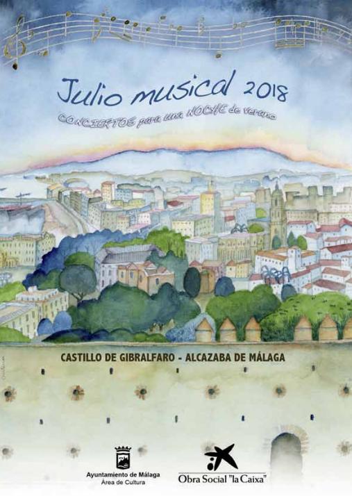 Julio Musical en Málaga 2018