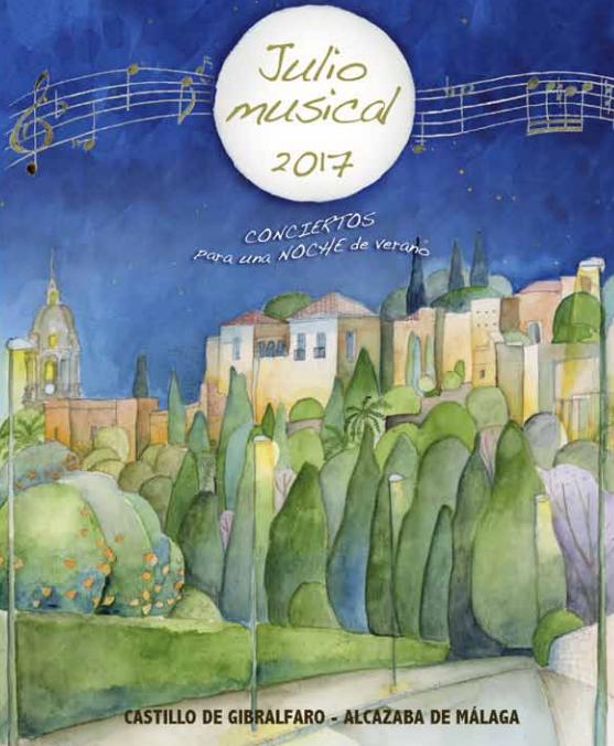 Conciertos Julio musical en Málaga