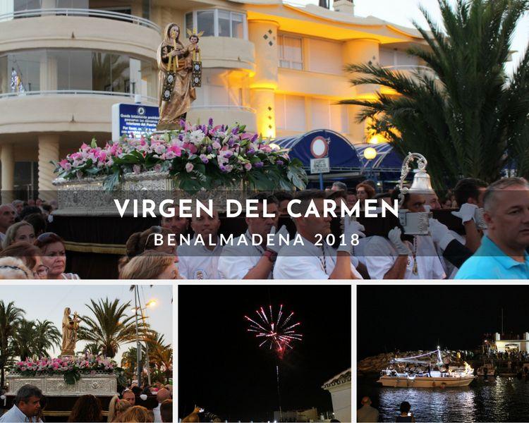 Virgen del Carmen Benalmádena 2018