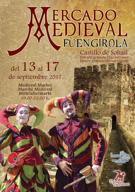 cartel mercado medieval de Fuengirola