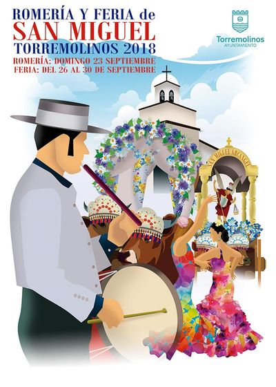 Cartel Feria de San Miguel Torremolinos